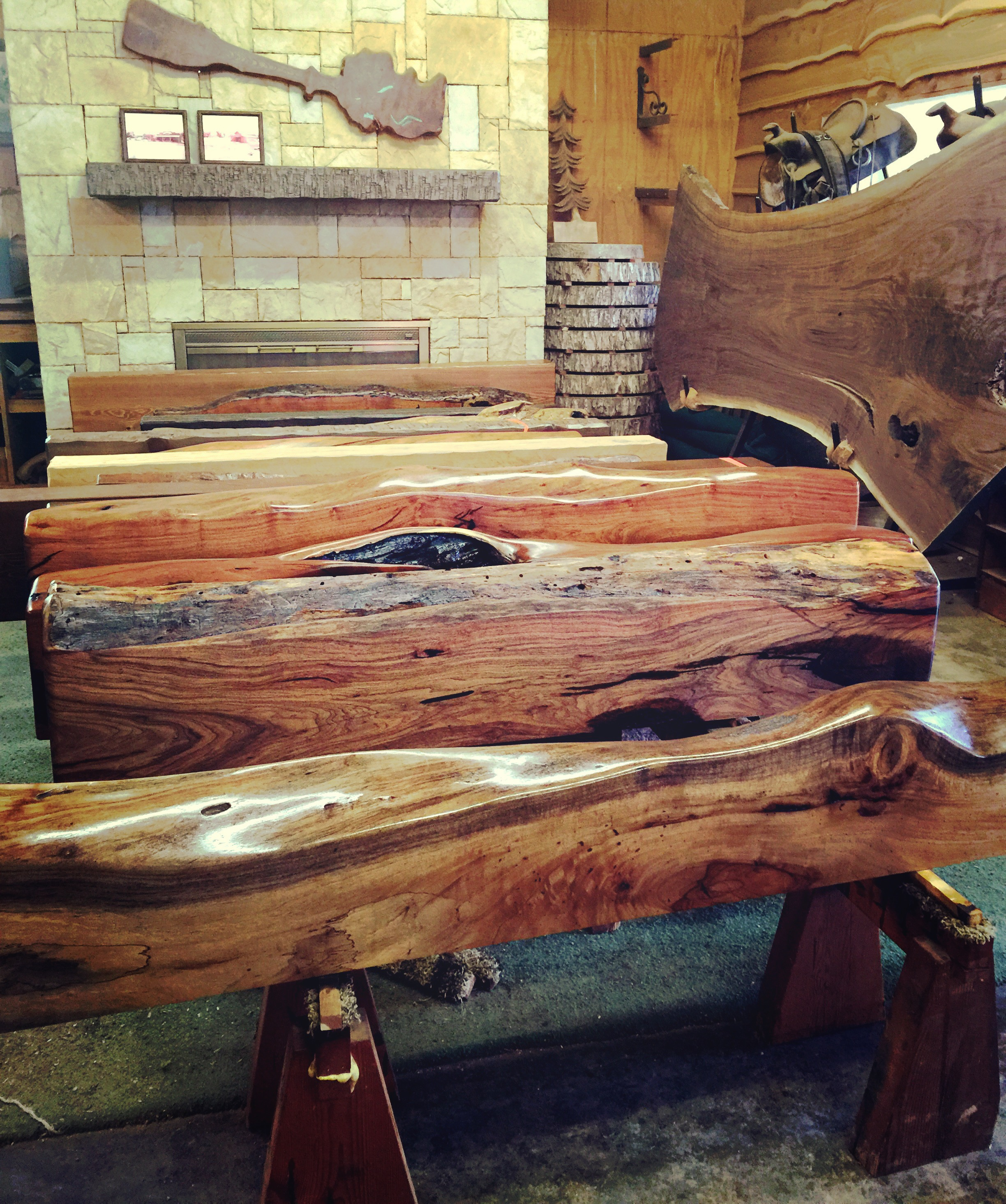 custom log fireplace mantles southwest trading posthautefindsatx