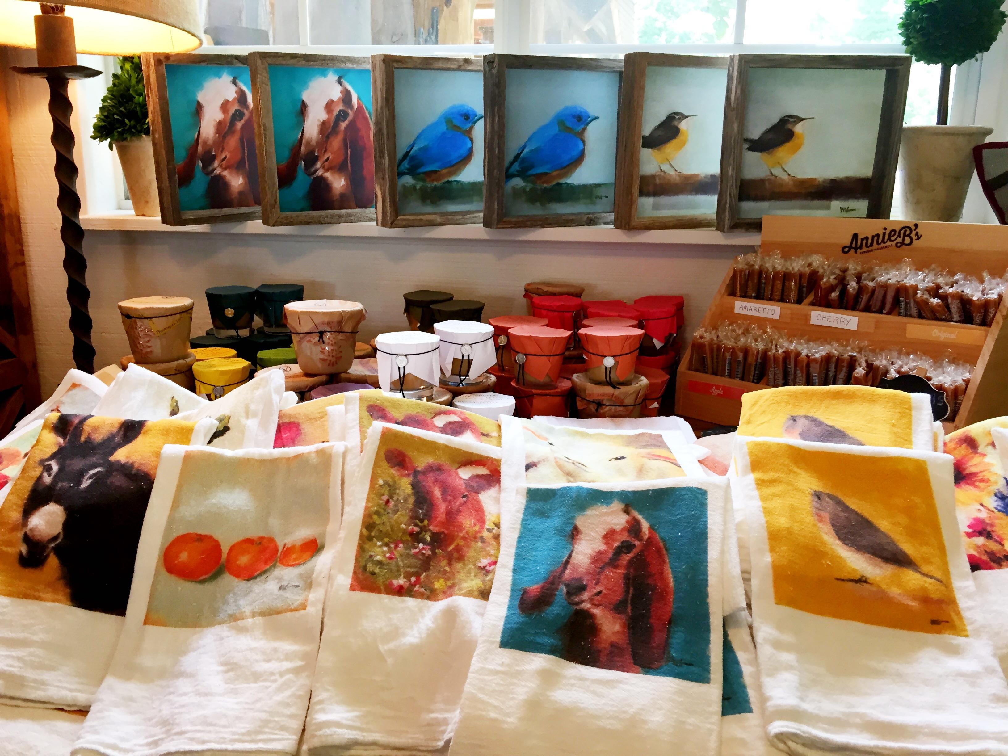 Mary Gregory Tea Towels & Artwork