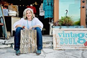 Meet Vintage Soul Owner and Artist, Julie Crawford