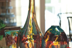 Hand Blown Glass by Wimberley Glassworks