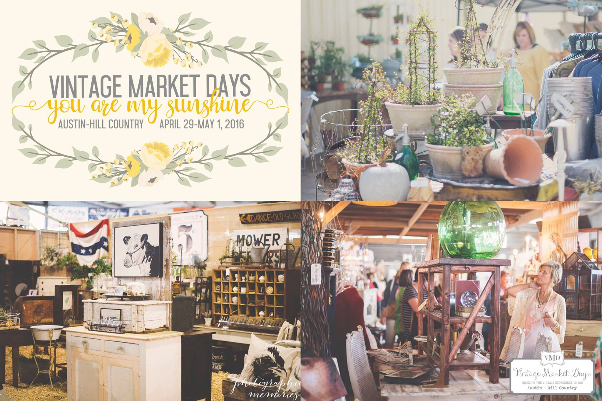 Vintage market days austin hill country for Antique marketplace