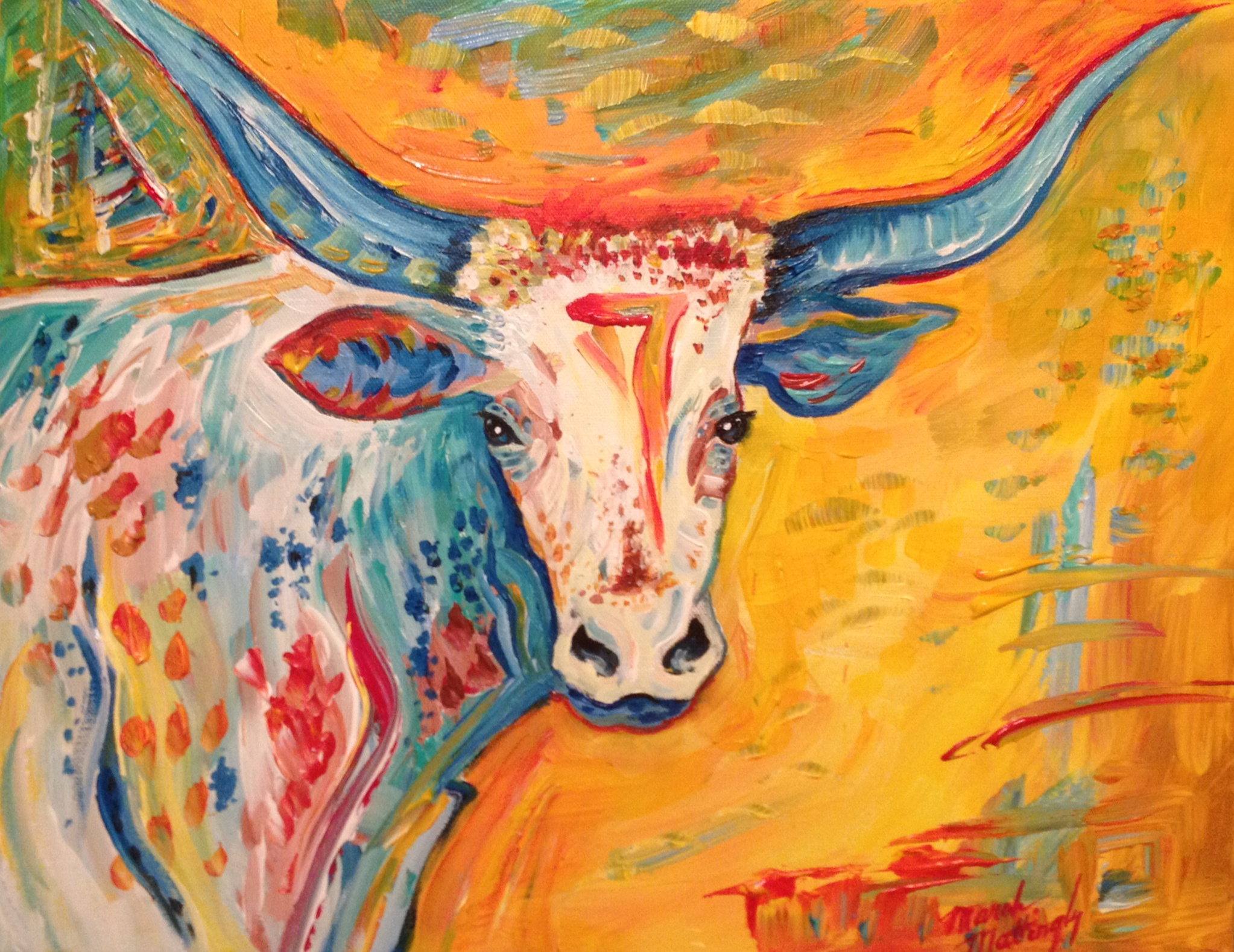 March Mattingly Texas Hill Country Artist