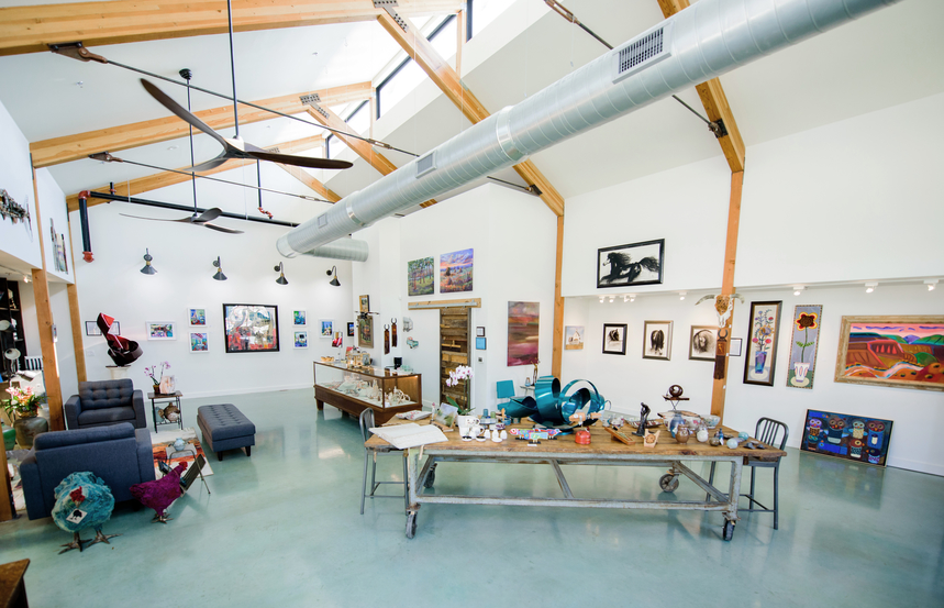 Assemblage Contemporary Craftsman Gallery in Buda